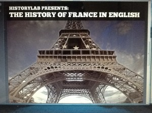 Historylab's Tom Villemaire has his new History of France in English podcast now available on iTunes.